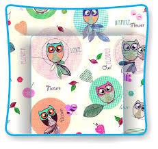 Polini Kids Wickelaufsatz Und Auflage Für Malm Kommode Owl