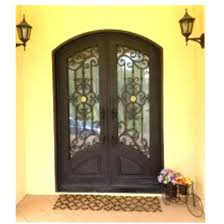 iron front doors wrought iron entry doors aluminium glass double entry doors arched double entry doors