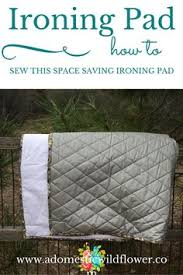 This small quilted ironing pad is a great way to use up some ... & How to Sew an Ironing Pad Adamdwight.com