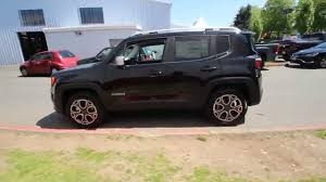 jeep 2015 renegade black. Perfect 2015 2015 Jeep Renegade Limited  Black FPB41846 Redmond Seattle   YouTube On