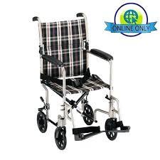nova lightweight aluminum transport chair with fixed arms wheelchair flip back lightweight aluminum transport chair