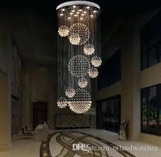 large modern globe crystal chandelier led lighting ceiling lamp rain drop light adjule