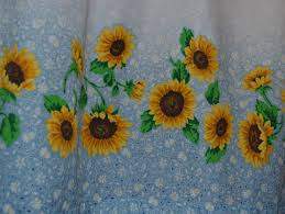 Sunflower Kitchen The Cheerful Sunflower Kitchen Curtains All About Countertop