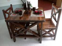unique rustic furniture. Chair Captivating Dining Table Set Design Featuring Glossy Varnished Wooden Rustic Chairs With Oversize Tall Ideas Unique Furniture O