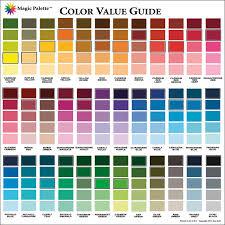 Magic Palette Artists Color Value Guide