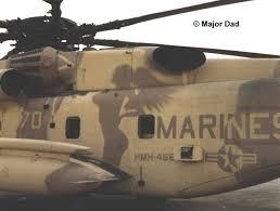 Marine helicopter naked women paint job