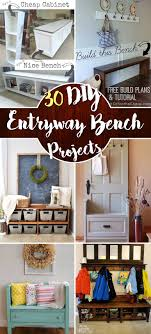 entry furniture cabinets. The Best 30 DIY Entryway Bench Projects Entry Furniture Cabinets
