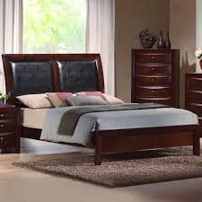 CM Emily Queen Platform Sleigh Bed - Item Number: B4200-Q-HBFB+