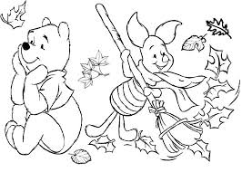 Free Coloring Autumn Day Free Fall Coloring Pages For Kids