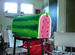painted mailbox designs. Mailbox Painting Ideas Funky Painted Mailboxes Post . Designs