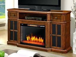 sinclair electric fireplace tv stand in aged cherry 259 18 48 in electric fireplaces tv stand