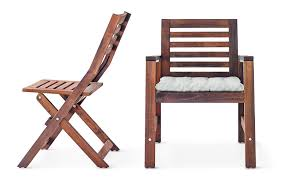pictures gallery of wooden folding chairs ikea