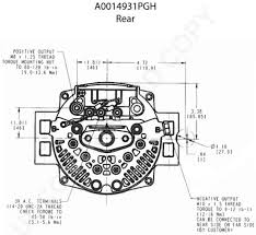 alternators p leece neville v a iref pad mount product diagram