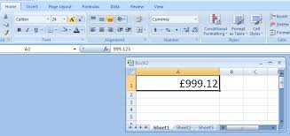 Excel Format Text Change Fonts Size Format