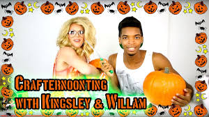 Crafternoonting with Kingsley Willam YouTube