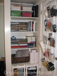 organize home office. she organize home office