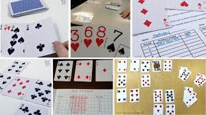 There are two versions of this game that i play: 23 Math Card Games Students And Teachers Will Love