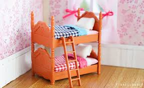 Sylvanian Families Bedroom Furniture Set Miniature Dollhouse Bedroom Furniture For Nendoroid Cu Poche And