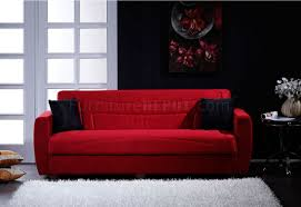 Microfiber Living Room Chairs Red Microfiber Living Room With Storage Sleeper Sofa