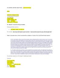 condo association budget template template letter to request access to official records from