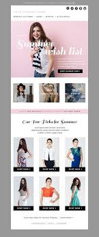 Template By Templates Templ… Email Of Design creativemarket Jannalynncreative On Fashion Psd Bundle Html
