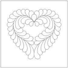 FREE Quilting Motifs PG3 & Feathered Heart Motif Adamdwight.com