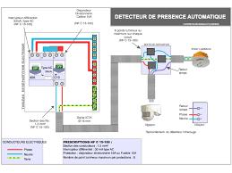 Great Branchement électrique Du Détecteur De Mouvement Schéma ...