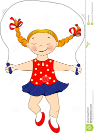 Risultati immagini per la bambina salta la corda
