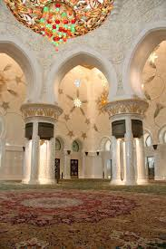 uae abu dhabi sheik zayed grand mosque main