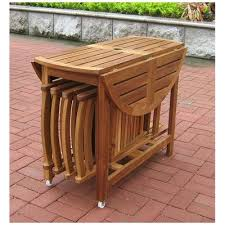 outdoor table and chairs folding. New 5 Piece Folding Outdoor Patio Table And Chair Set Porch Deck Seating   EBay Chairs N