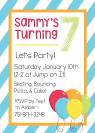 Birthday Invitation Party Free Printable Birthday Invitation Templates