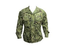 U S Navy Working Uniform Blouse Aorii Type Iii Woodland Digital