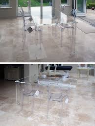 design innovative ideas clear dining table charming acrylic with regard to prepare 1 corners cloth varnish