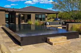 What Is A Perimeter Overflow Swimming Pool Design . Stunning Overflow  Swimming Pool Design ...