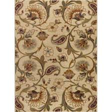 impressions ivory 8 ft x 10 ft transitional area rug