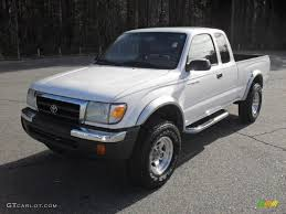 2000 Natural White Toyota Tacoma V6 PreRunner Extended Cab ...