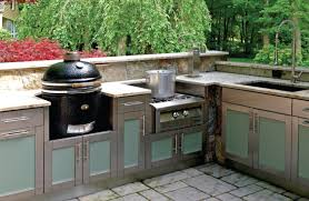 Outdoor Kitchen Furniture An Uncommon Outdoor Kitchen Hearth Home Magazine