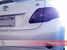Rtint® Toyota Corolla 2009-2010 Tail Light Tint|Film