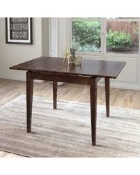expandable console table. Find The Best Deals On Corliving Cappuccino Extendable Square Dining Expandable Console Table