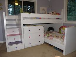 kids beds with storage for girls. Gorgeous Kid Bedroom Decoration Using Ikea Bunk Bed : Awesome With White Kids Beds Storage For Girls