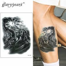 Glaryyears 1521 см временная татуировка стикер поддельные тату человек флеш тату