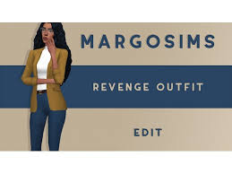 margosims: Revenge Outfit - The Sims 4 Download - SimsDomination