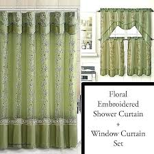 shower curtains and window curtains shower curtain and window valance set luxury sage shower curtain and shower curtains and window