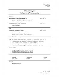 Resume With No Work Experience Template. Sample Student Resume ...