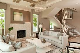 stairwell lighting. Example Of A Trendy Formal And Open Concept Medium Tone Wood Floor Living Room Design In Stairwell Lighting C