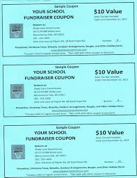 Make Coupons Sell Fundraiser Coupons Shady Lane Greenhouses