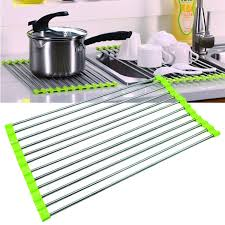 Over The Sink Drying Rack Stainless Steel Over The Sink Dish Drying Rack Yummy Sam Sink