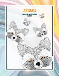 Mandala Coloring Therapy Book - Animals by Sofia Gregory, Paperback    Barnes & Noble®