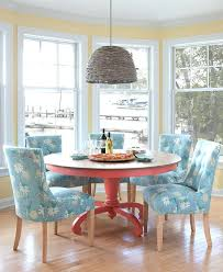 colorful dining table dining room furniture painted solid wood cottage style multi colored dining room table