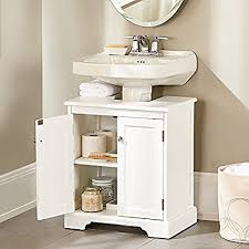 bathroom pedestal sink storage. Fine Bathroom Weatherby Bathroom Pedestal Sink Storage Cabinet  Improvements In E